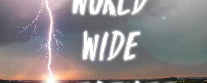 Das Logo zum World Wide Weather Podcast von Steven Garcia